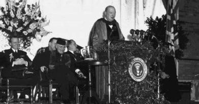 05/03/1946 – A Cortina de Ferro de Winston Churchill