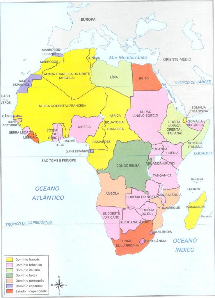 Divisão neocolonial da África